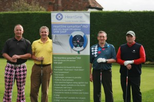 Golfers at Lilly-May Page Trust Golf Day
