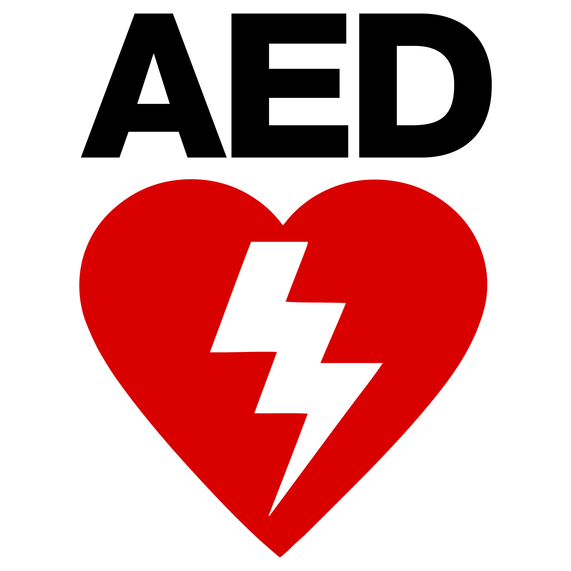 pics for gt aed symbol vector