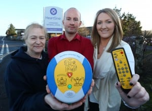 Bangor charity, the Danny Mills Foundation, has received a portable defibrillator trainer to use as a learning device for schools and sports clubs in the local area.