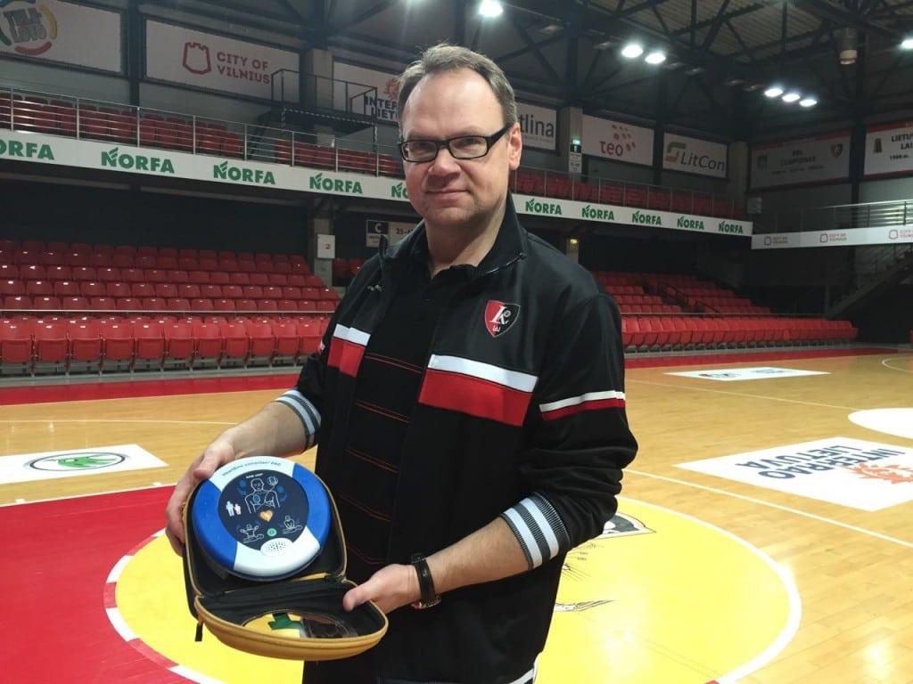 BC Lietuvos Rytas's Team Doctor, Tomas Vorobjovas